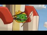 ЗЛЫЕ ПТИЧКИ - Angry Birds мультфильм - 1 сезон - 17 серия - Свиньи для Краш-Теста - мультик