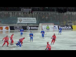 Финал Чемпионата Мира по хоккею с мячом 2016. Сборная России - Сборная Финляндии.