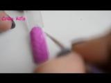 """Дизайн ногтей """"Свитер"""" - маникюр гель лак - уроки дизайна"""