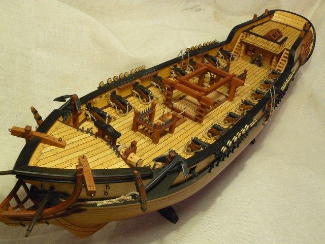 """Собирательный образ пиратского корабля """"CORSAIR"""" масштаб 1:80 фирмы OCCRE HTfjOOAuCo0"""