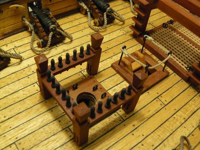 """Собирательный образ пиратского корабля """"CORSAIR"""" масштаб 1:80 фирмы OCCRE Dj2ym_yHatc"""