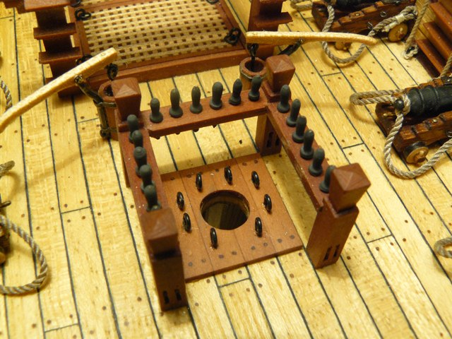"""Собирательный образ пиратского корабля """"CORSAIR"""" масштаб 1:80 фирмы OCCRE 9NULOc1h6Lk"""