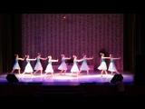 Старшая группа Образцового Ансамбля танца Экситон . Танец