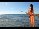 Девушки на рыбалке Fishing girls