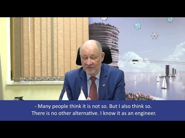 Russia acknowledges SkyWay interview with Anatoly Yunitskiy and Victor Baburin