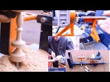 Самодельный токарный станок по дереву своими руками.Часть2.Homemade Wood Lathe
