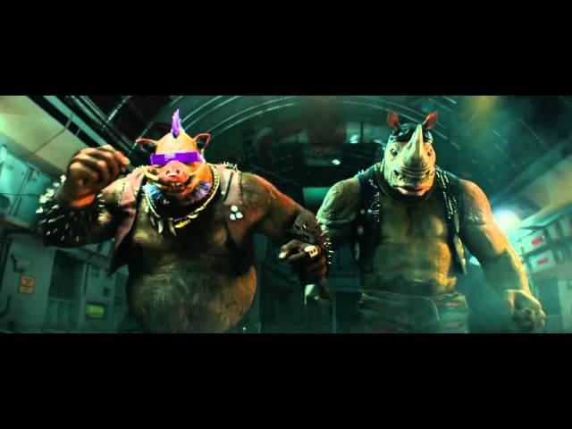 Підлітки мутанти черепашки ніндзя 2 Teenage Ninja Turtles 2016 український трейлер №2