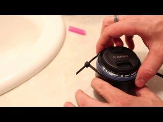 CHEAPEST DIY Follow Focus for DSLR 50mm 1.8 - Homemade