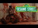 Five Nights at Sesame Street FNAF Trailer Пять ночей на улице Сезам Трейлер Русская озвучка
