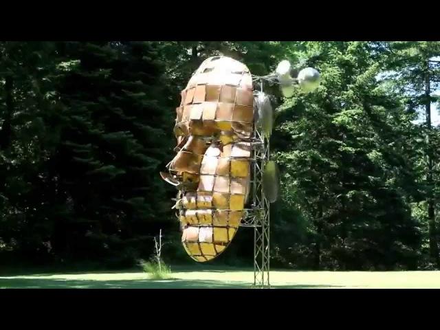 Кинетические скульптуры Энтони Хоу