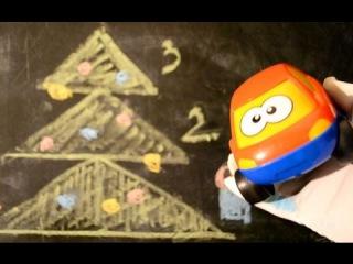 Видео про машинки. Как нарисовать елку. Загадки для детей
