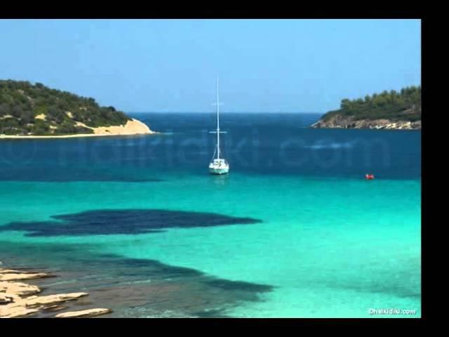 Kallithea Chalkidiki Kassandra Greece 2014 summer Halkidiki