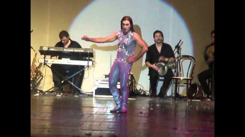 AMIR THALEB BELLYDANCE LA PLATA 2011 BUENOS AIRES EN BLANCO
