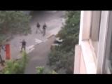 Полицейские застрелили четырех вооруженных преступников на юге Бразилии.  (22.04.2016)