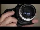 Автофокусный Carl Zeiss Jena Sonnar 135 mm f/ 3.5 на Кенон.