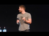 JIB Con 6 - Epic Jensen  Misha Panel - Part 3, including Jensen flashing us, and much more! (online-video-cutter.com)