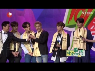 28.03.2016 -  east billboard music awards - shinee won the outstanding asian group award!