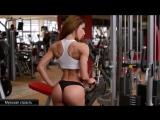 Petra Szabo amazing Fitness model (video workout HD)
