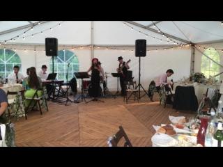 Русско - Французская свадьба, г. Таруса, Welna Sha Hotel, august 2015