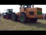 Немецкий трактор Джон Дир против К 700 Мощь