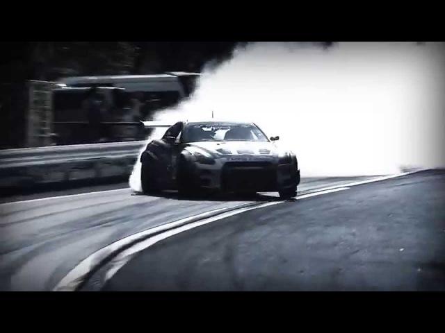 Nissan GT-R con más de 1000 HP Drifting con Masato Kawabata
