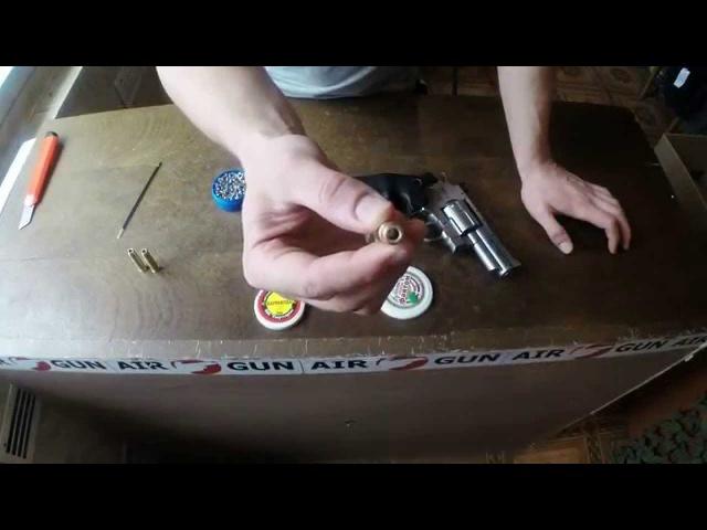 Пиротехнические картриджи для пневматических револьверов