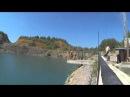 Александровское голубое озеро