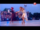 Танцуют все 6 сезон - Ирина и Яна. Танец - Свекровь и невестка.Концерт в селе. 08.11.2013