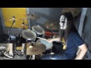 Slipknot Surfacing Drum Cover With Joey Jordison Mask drum play through by Jordan