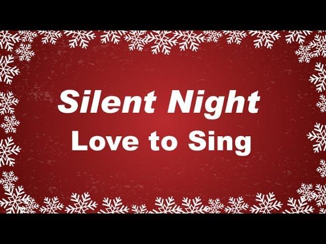 Silent Night with Lyrics | Christmas Carol | Sung by top Talented Choir