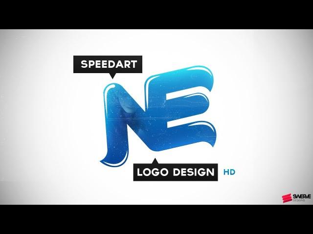 Swerve™ Graphic designer Speed Art | Navas Enzee Logo design Illustration by Swerve Designs