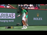 Dimitrov Improvises Hot Shot Indian Wells 2016