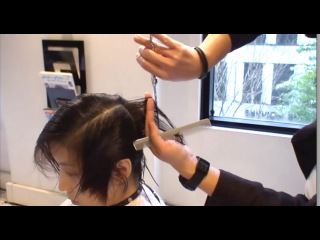 Kenneth Siu's Haircut - Pixie Cut