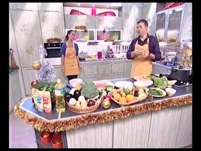Жанна Фриске в программе Смакуємо (Эфир от 20.12.2009)