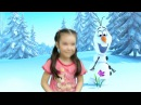Весенняя пальчиковая игра на английском языке. Spring Fingerplays 5 Little Snowmen