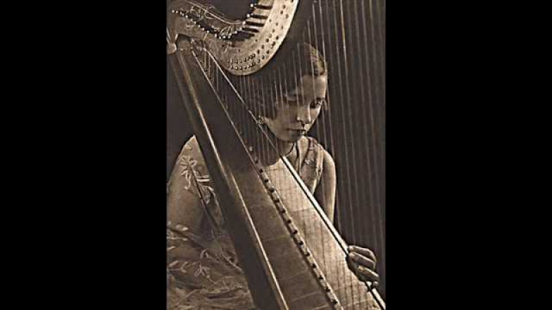 Vera Dulova - Russian Soviet harpist-virtuoso