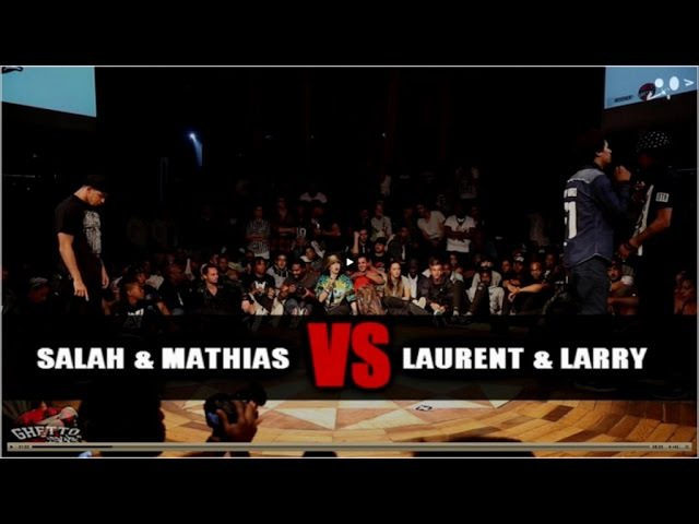 GS FUSION CONCEPT WORLD FINAL quart final |Laurent ( les twins) VS salah | Hkey Film