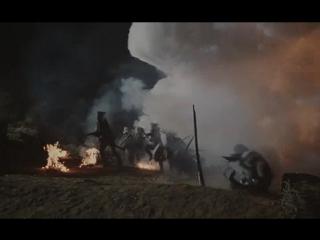 Ночное нападение французов (Приключения королевского стрелка Шарпа. Битва Шарпа)