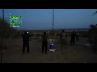 Кадры новое оружие русских в Сирии, на земле взрывается все что содержит взрывчатку, детонируют капс