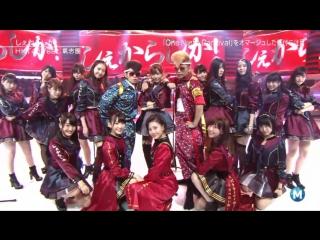 [Perf] HKT48 feat Kishidan - Shekarashika! at MUSIC STATION 20 November 2015