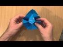 Цветок Карамбола оригами Carambola Flower origami Carmen Sprung