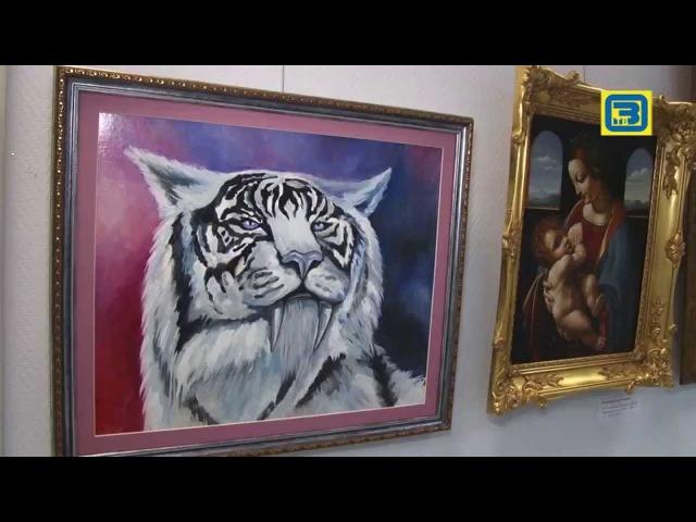 Выставка художников-любителей в Орехово-Зуеве 06.08.15