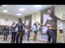 Восточные танцы СВТ Ферюза - репетиция танца в стиле шааби