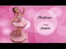 Как сделать балерину (танцовщицу) из мастики