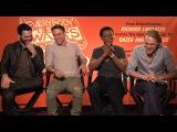 Everybody Wants Some Tyler Hoechlin, Ryan Guzman, J. Quinton Johnson, Wyatt Russell Interview