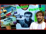 #1 Шелкография на футболках Трафаретная печать silk screen printing on t shirts Мысля от Эдгара 2014
