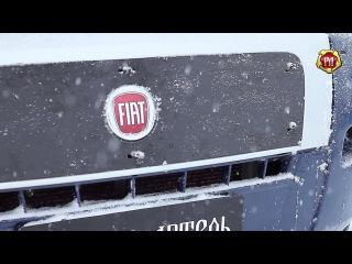 Зимняя заглушка решетки радиатора Fiat Ducato, 2012-2013 (russ-artel.ru)