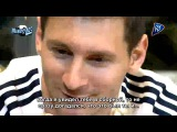 Sergio Aguero's interview with Leo Messi (rus sub)