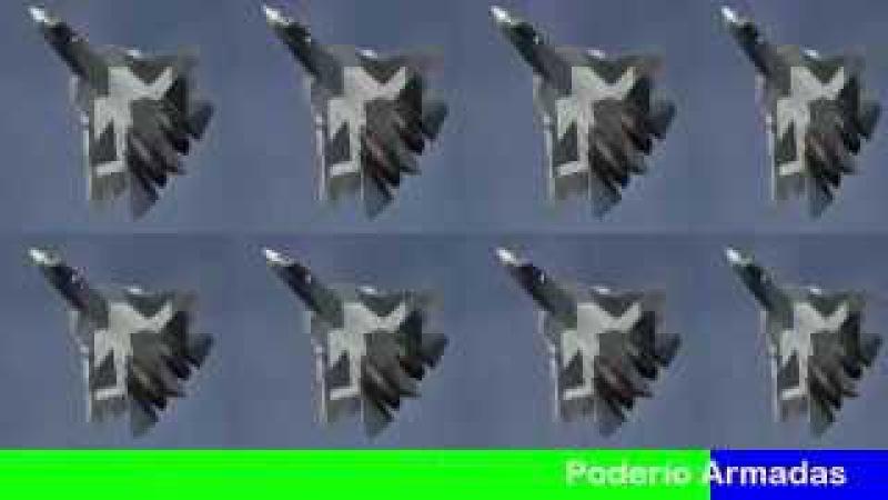 3 cazas rusos T 50 PAK FA entran en servicio en la Fuerza aerea rusa y TIEMBLA la OTAN