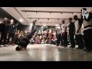 The Ruggeds vs Soul Mavericks bboy battle showcase at Sadler's Wells Sampled 2016